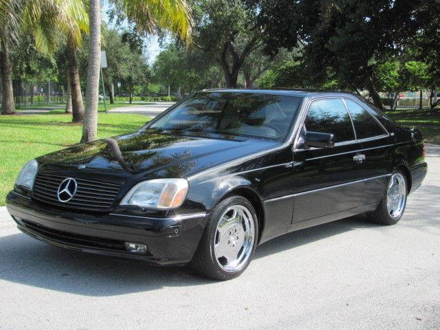 Rare s600 coupe black v12 chrome amg wheels parktronic for 2002 mercedes benz s600 v12 for sale