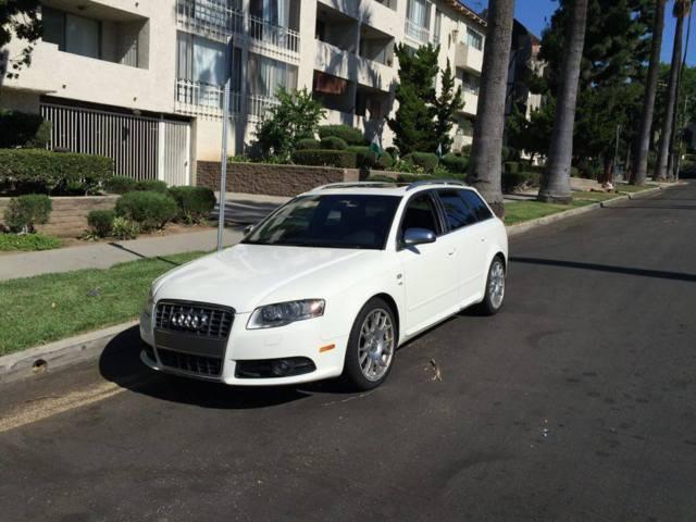 Rare White 2006 Audi S4 Avant 42L V8 Manual Transmission