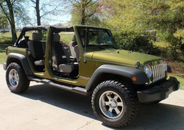 Rescue Green Jeep >> Rescue Green Jeep Wrangler Unlimited X Jk