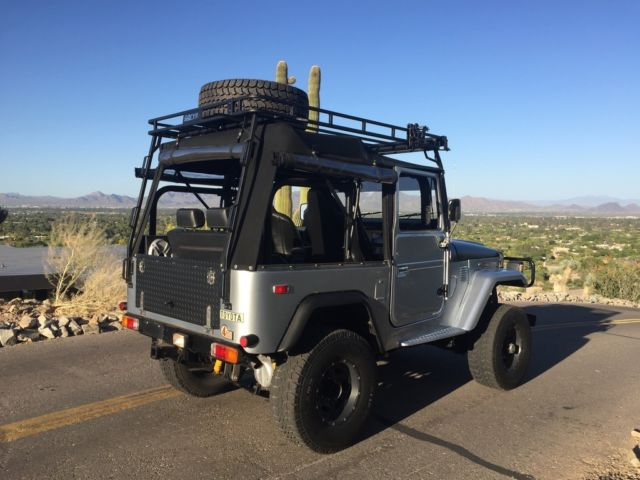 Restomod Fj40 Soft Top Convertible V8 With All The Goodies
