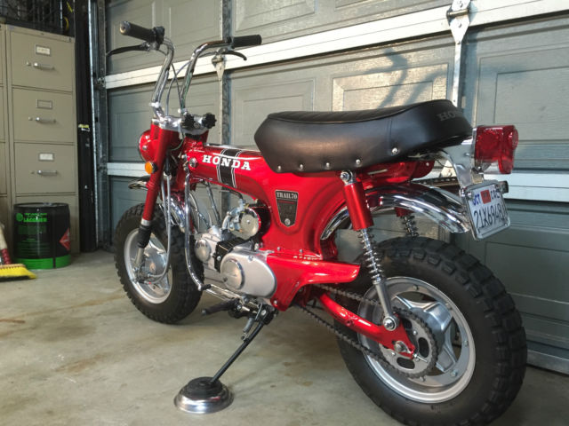 Honda Thousand Oaks >> Restored 1969 Honda CT70 Silver Tag Title and Current ...