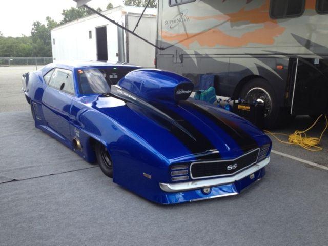 Rj Race Cars 69 Camaro Pro Mod