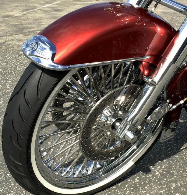 Road King 21 Quot Spoke Wheel Hard Saddlebags Chrome Calipers