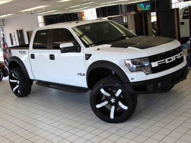 ROUSH Raptor SUPERCHARGED 24 Inch Wheels 37 Inch Tires ...