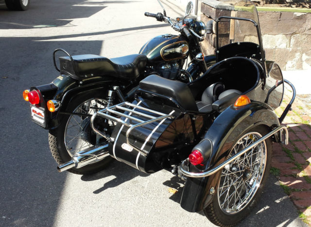 royal enfield bullet 500cc motorcycle with kozi sidecar. Black Bedroom Furniture Sets. Home Design Ideas