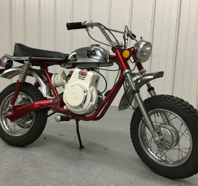 Rupp bonanza vintage mini bike 1971 small engine dis for Little motors for bicycles