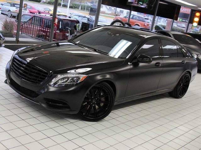 2007 S550 For Sale >> S550 Sedan TRIPLE BLACK Custom Wrap Navi Pano 22's