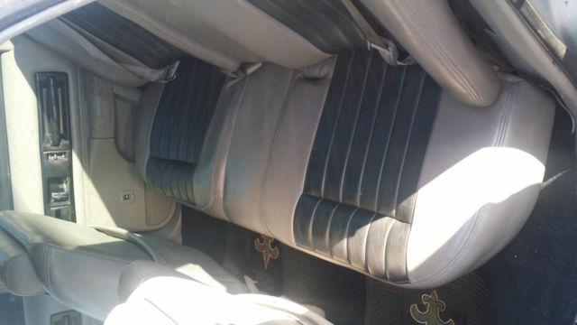 Satin Matte blacked out 1996 impala ss
