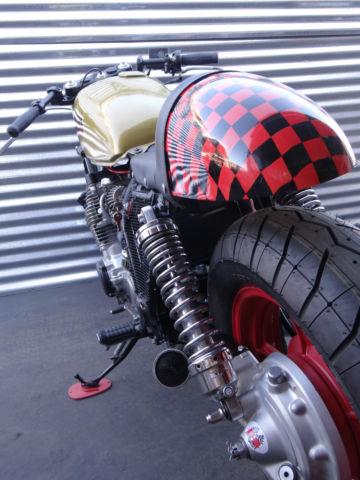 See Video Cafe Racer Street Fighter Drag Bike Bobber