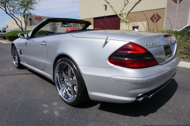 Silver amg sl class 65 like 2003 2004 2005 2006 2007 2008 for 2005 mercedes benz sl class