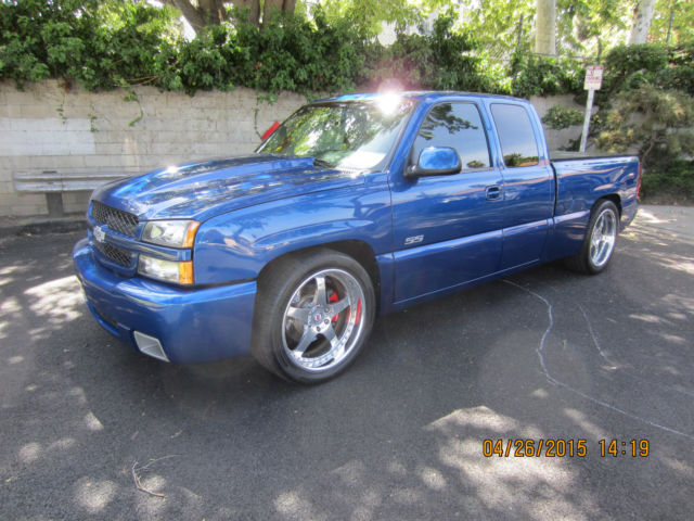 silverado ss original owner supercharged low miles hre wheels. Black Bedroom Furniture Sets. Home Design Ideas