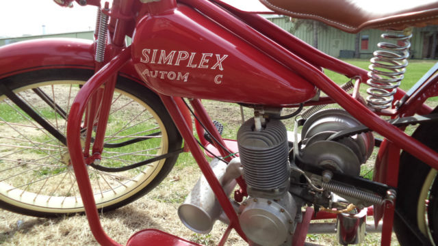 Selling A Car In Illinois >> Simplex servi cycle (VINTAGE MOTORCYCYCLE)**RESTORED AND