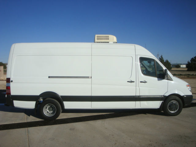 Sprinter mobile office lab work shop expediter van cargo for Mercedes benz work vans