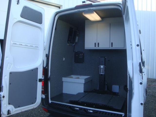 Sprinter Mobile Office Lab Work Shop Expediter Van Cargo