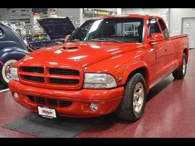 Street Rod Shaker Hood Black Leather Ac Nice Low Miles on 2000 Dodge Dakota 59 R T