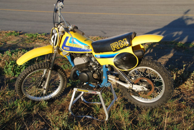 Motor Vehicle Bill Of Sale >> Super Clean 1980 Suzuki RM80 RM80 Vintage Motocross bike ...