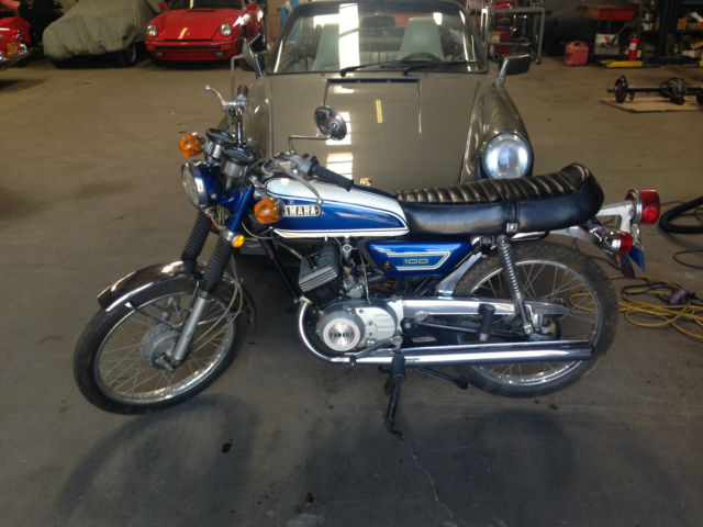 Superb Original 1972 Yamaha LS2 100cc Only 3780 Miles
