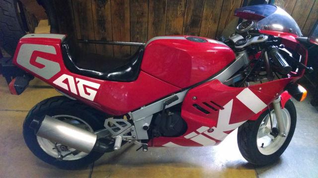 A Rare 1986 Suzuki RB50 GAG Goes To Auction