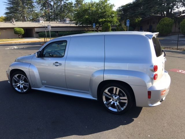 Sweet 2009 Chevy Hhr Ss Panel In Silver Ice Loaded Aluminum