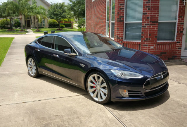 Tesla Model S P85d Fully Loaded Limited Edition Midnight