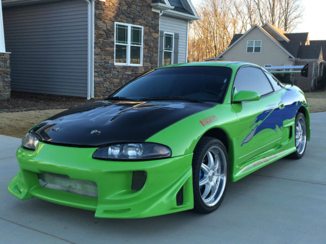 The Fast and the Furious Eclipse replica! Paul Walker ...
