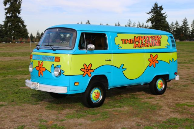 The Mystery Machine Scooby Doo Transporter Party Surf Bus