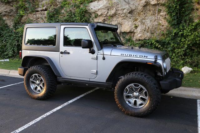 The Silver Beast 2014 Jeep Wrangler Rubicon Sport Utility