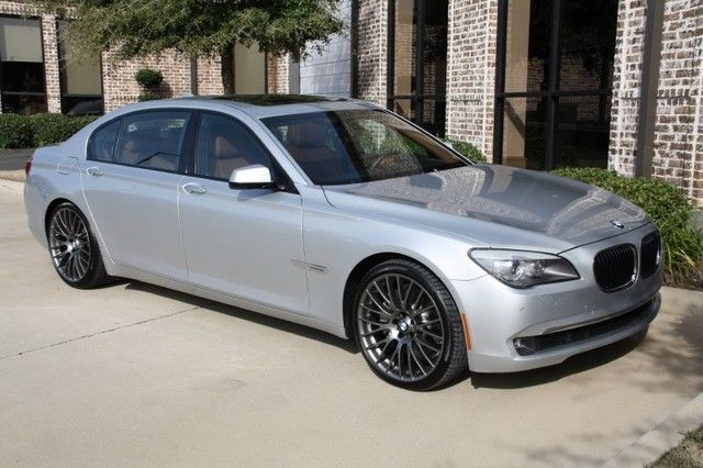 Titanium Silver Luxury Seating Rear Entertainment BMW 21s