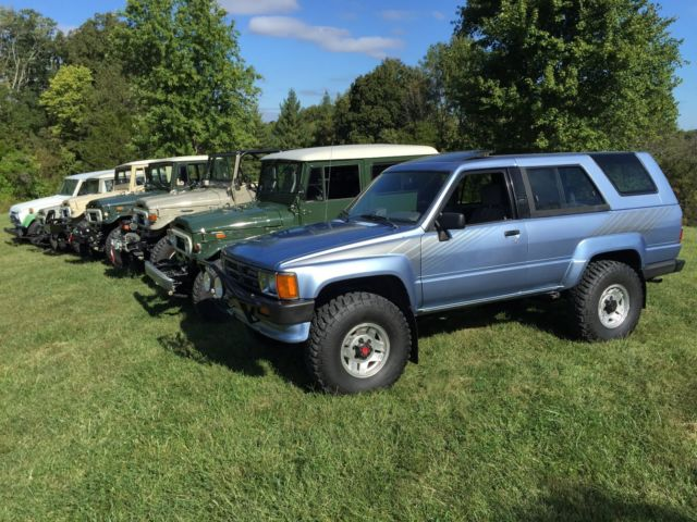 Toyota 4 Runner 1988 Four Runner Sr5 Land Cruiser Fj