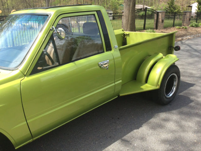 Toyota Pickup Custom One Of A Kind Dually Hot Rod Shop Truck Rat Rod Project on 1989 Toyota Pickup 4x4 Efi