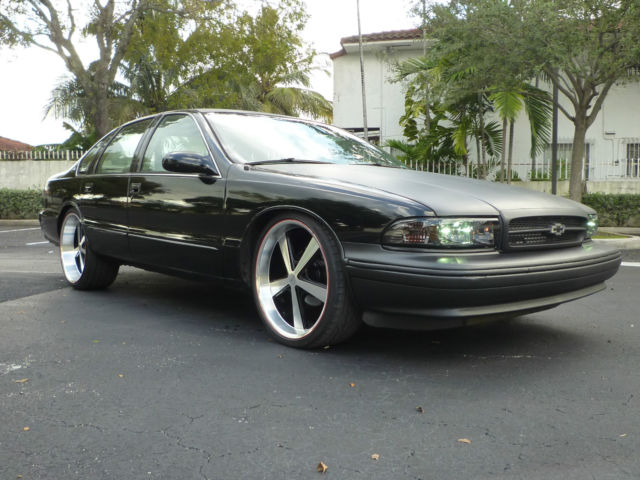 trades 1995 turbo lt1 chevy impala ss wx3 bbb 22 rims. Black Bedroom Furniture Sets. Home Design Ideas