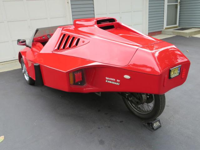 Tri-magnum Reverse Trike based on Kawasaki KZ1000 not a ...