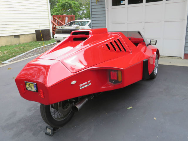 Tri-magnum Reverse Trike based on Kawasaki KZ1000 not a ...