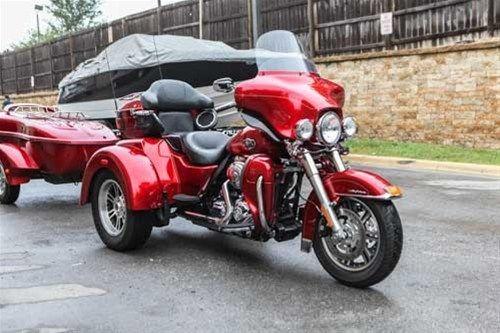 Trike Harley Davidson Tri Glide Chrome Trailer Screaming