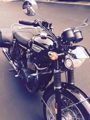 Triumph Bonneville T100 Efi 2012 Black