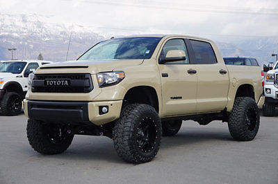 Toyota Tundra 1794 Edition >> TUNDRA CREW MAX TRD PRO 4X4 CUSTOM NEW LIFT WHEELS TIRES LEATHER NAVIGATION ROOF