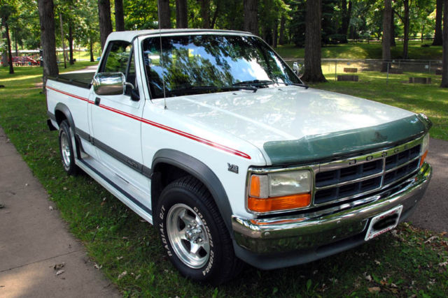 ultra rare 1991 dodge dakota factory convertible 1 of 8 produced v 8 5 2l vehicles markets com