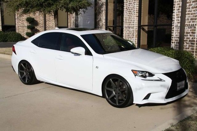 Ultra White On Rioja Red F Sport 19 Inch Vossen Wheels Navigation Mark Levinson