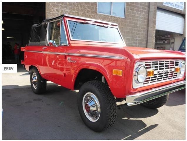 uncut 72 explorer early 4x4 classic ford bronco for sale. Black Bedroom Furniture Sets. Home Design Ideas