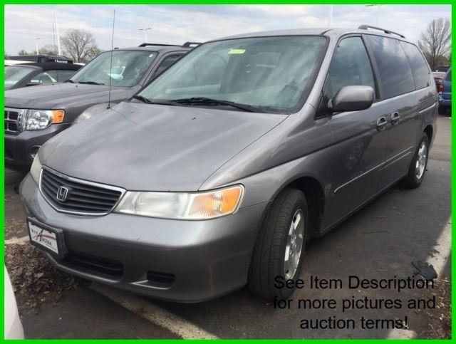 78fe8ee337 Used 00 Honda Odyssey EX 3.5L V6 Auto FWD Minivan Van Gray Silver Cloth  Cheap