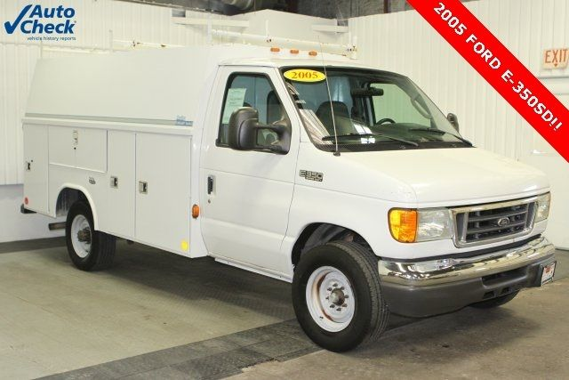 Reading Utility Body >> Used 05 Ford E 350sd Reading Cutaway Utility Body Kuv 5 4l V8 Auto