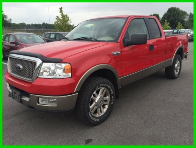 used 05 ford f150 lariat 5 4l v8 automatic 4x4 pickup work. Black Bedroom Furniture Sets. Home Design Ideas
