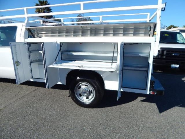 Used 2012 Ford F350 8' CREW CAB Utility Service Body Truck ...