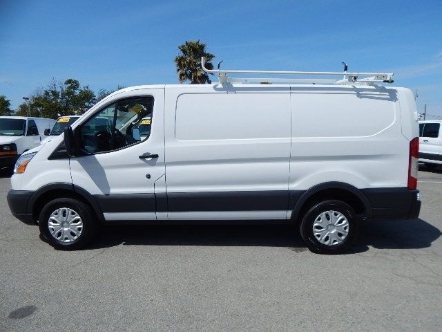 used 2015 ford transit 250 cargo van low roof bin package roof rack 3 7l v 6 gas. Black Bedroom Furniture Sets. Home Design Ideas