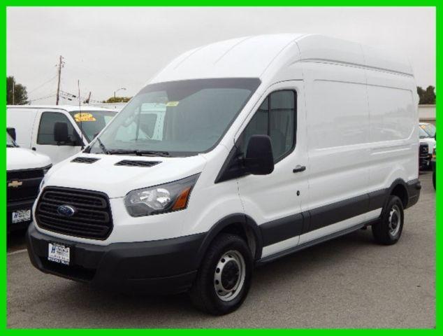 used 2015 ford transit 250 long wheel base high roof cargo van 3 7l v 6 gas. Black Bedroom Furniture Sets. Home Design Ideas