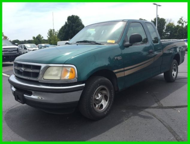 used 98 ford f150 xl 4 2l v6 automatic rwd pickup work. Black Bedroom Furniture Sets. Home Design Ideas