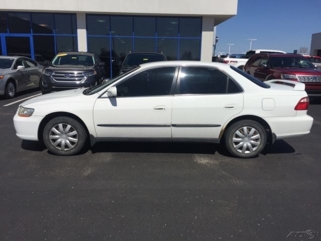 used 98 honda accord lx 2 3l i4 auto cheap fwd sedan white tan cloth cheap. Black Bedroom Furniture Sets. Home Design Ideas