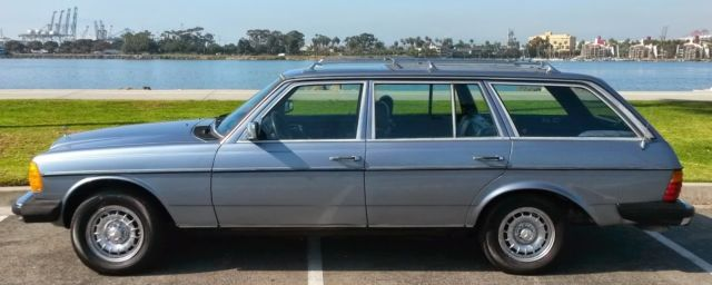 Very Dry Californian 83 Mercedes W123 300 Tdt Station Wagon Very