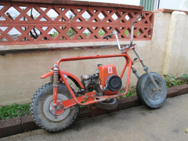 Vintage S S Bonanza Mini Bike Project Or Parts Tecumseh Hodaka Chopper on Bonanza Mini Bike