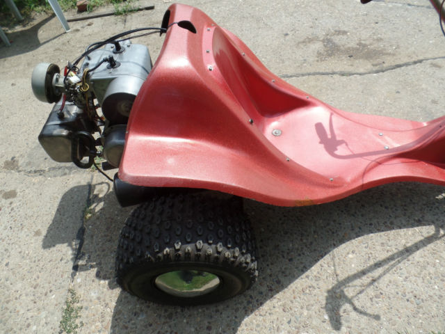 Dirt Bike Battery >> VINTAGE 1970's ALSPORT TRISPORT TRI ROD TRIKE 3 WHEELER ...